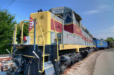 Photograph - Train Engine by Steve Stuller