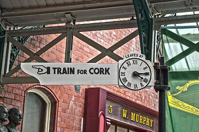 Photograph - Train For Cork by Sharon Popek