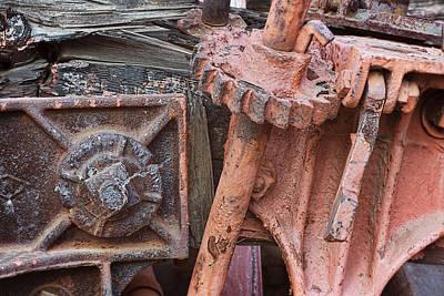 Photograph - Train Gears by Steve Siri