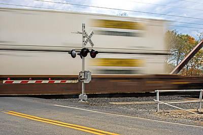 Photograph - Train Lines by Bill Jordan