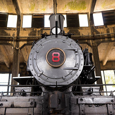 Photograph - Old Steam Locomotive by For Ninety One Days