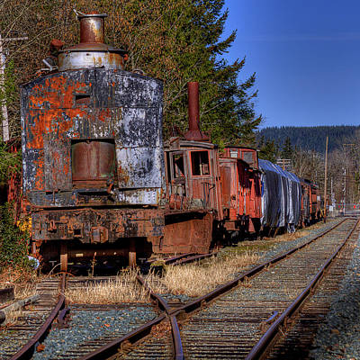 Photograph - Train No. 1 by David Patterson