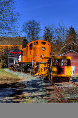 Photograph - Train No. 2 by David Patterson