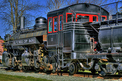 Photograph - Train No. 3 by David Patterson