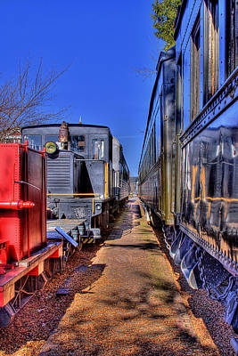 Photograph - Train No. 4 by David Patterson