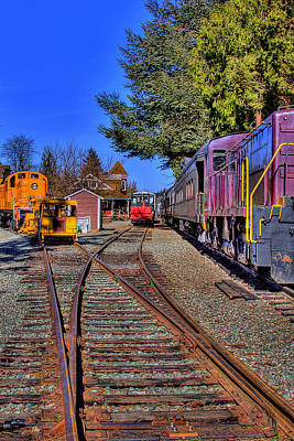Photograph - Train No. 5 by David Patterson