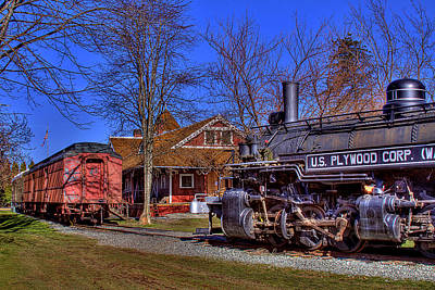 Photograph - Train No. 6 by David Patterson