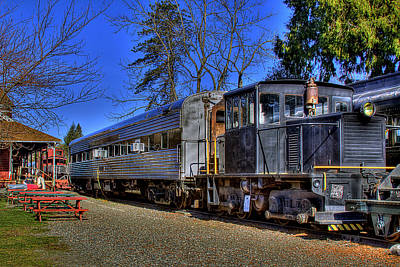 Train Photograph - Train No. 8 by David Patterson