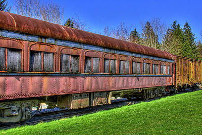 Cars Photograph - Train No. 91 by David Patterson