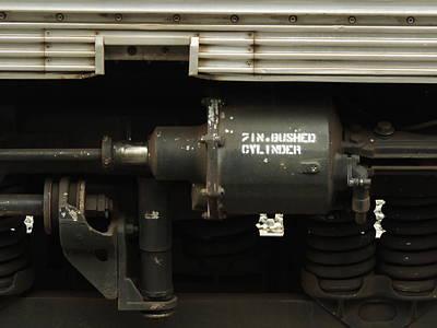 Photograph - Train Parts by Bill Tomsa