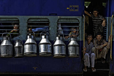 Cans Photograph - Train by Prateek Dubey