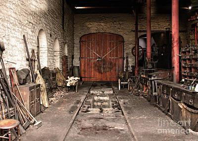 Photograph - Train Repair Pit  by Doc Braham