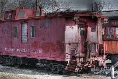 Fox River Photograph - Train Series 2 by David Bearden