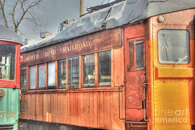 Fox River Photograph - Train Series 5 by David Bearden