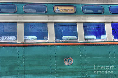 Fox River Photograph - Train Series 8 by David Bearden