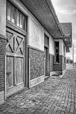 Photograph - Train Station - David City - Nebraska by Nikolyn McDonald
