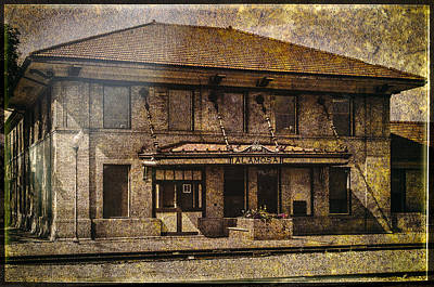 Photograph - Train Station by John Brink