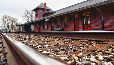 Harpers Ferry Photograph - Train Station by Mitch Cat