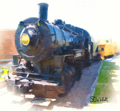 Painting - Train by Stephen Mitchell