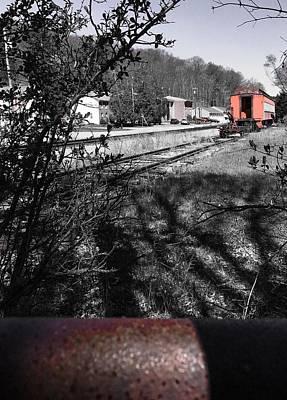 Photograph - Train Time by Jason Nicholas