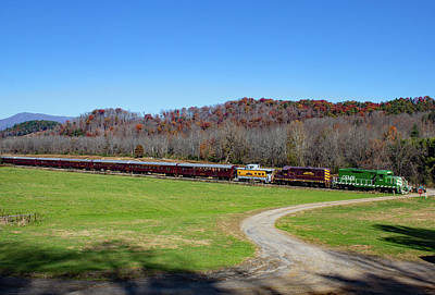 Photograph - Train To Dillsboro Color 10 by Joseph C Hinson Photography