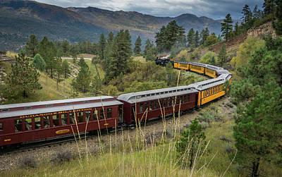 Photograph - Train To Durango by Constance Reid