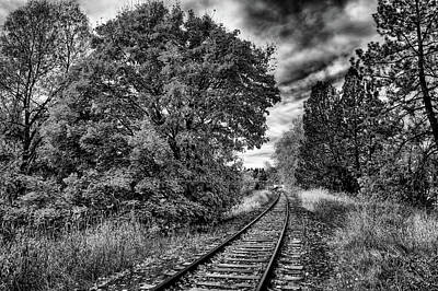Photograph - Train Tracks by David Patterson