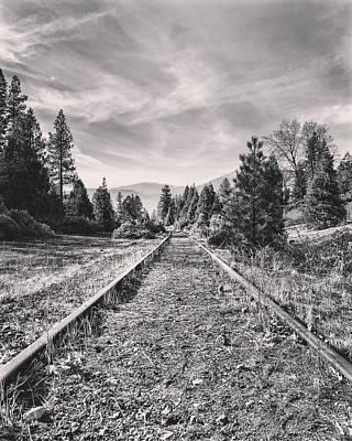 Photograph - Train Tracks by JoAnn Lense