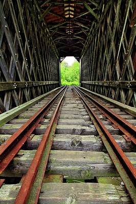 Photograph - Train Tunnel by Brian Pflanz