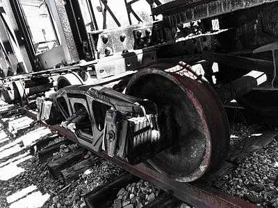 Photograph - Train Wheels by Jason Nicholas