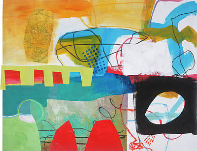 Abstract Painting - Train Wreck#6 by Jane Davies