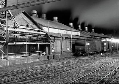 Photograph - Train Yard by Matthew Turlington