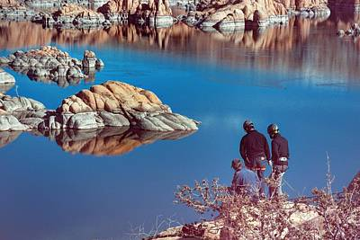 Watson Lake Photograph - Training Day by Thomas Todd