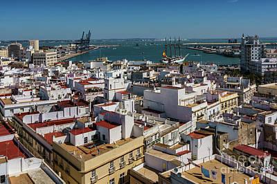 Photograph - Training Tall Ship Elcano Departs Cadiz Spain by Pablo Avanzini