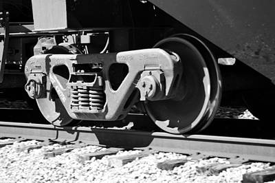 Photograph - Training Wheels - Csx by rd Erickson