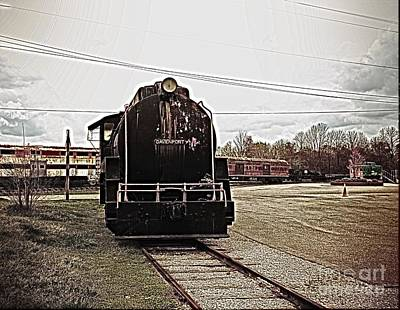 Traditional Bells - Trains 3 Paint Retro by Jay Mann