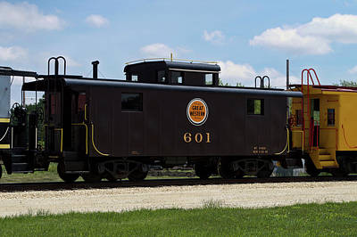 Trains Caboose 601 Great Western Art Print