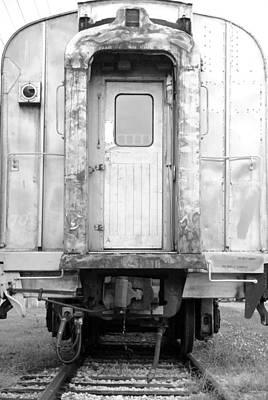Trains End Art Print