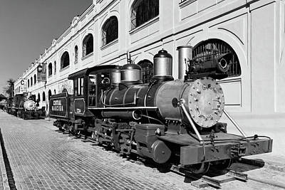 Photograph - Trains From Another Era by Dawn Currie