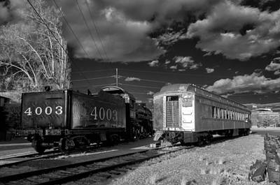 Photograph - Trains by James Barber