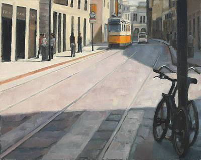 Painting - Trains On Time by Tate Hamilton