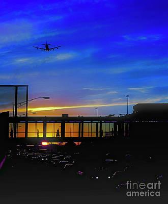 Trains Planes And Automobiles  Art Print