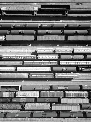 Photograph - Trainyard by Rand