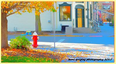 Photograph - Traipsing In Belvidere Town by Tami Quigley