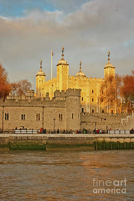 Photograph - Traitor's Gate Tower Of London by Terri Waters