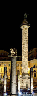 Photograph - Trajan's Column Revisited by Weston Westmoreland