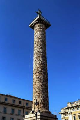 Photograph - Trajan's Column, Rome, Italy by Elenarts - Elena Duvernay photo