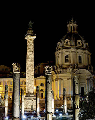 Photograph - Trajan's Column Rome by Weston Westmoreland