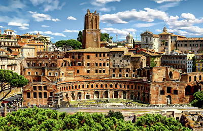 Photograph - Trajan's Market by Anthony Dezenzio