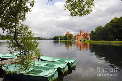 Photograph - Trakai Island Castle by RicardMN Photography